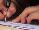 Học sinh thờ ơ với chữ viết tay