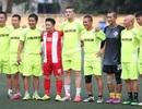 Đội bóng Bằng Kiều đấu Hồng Sơn gây quỹ từ thiện