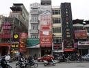 """Biển quảng cáo """"khủng"""" tiềm ẩn hiểm họa cháy giăng khắp Hà Nội"""