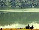 Ngắm vẻ đẹp thơ mộng của hồ Núi Một
