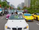 Thiếu gia, tiểu thư Trung Quốc khoe dàn siêu xe gây náo loạn