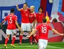 Nga 0-3 Wales: Đêm thăng hoa của Bale và Ramsey