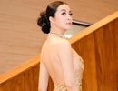 """Thanh Mai """"lộ"""" lưng trần sexy"""