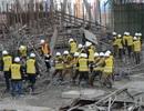 Hiện trường vụ sập công trình nhà máy điện ở Trung Quốc, 74 người chết