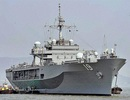 Siêu hạm USS Blue Ridge của Mỹ đến thăm cảng Ấn Độ