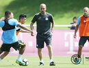 Guardiola tiếp tục để Man City tập ở Munich