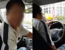 Nữ hành khách và tài xế uber cãi nhau kịch liệt