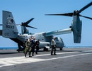 Phó tổng thống Mỹ thăm tàu sân bay tập trận trên Thái Bình Dương