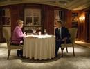 Ông Obama ăn tối riêng với Thủ tướng Đức