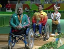 Khoảnh khắc xúc động khi giành HCV Paralympic của Lê Văn Công
