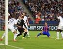 Barcelona 4-2 Leicester: Luis Suarez lập công