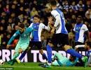 Barcelona bị đối thủ yếu Hercules cầm hòa