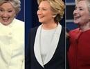 Thông điệp ẩn chứa sau 3 bộ trang phục của bà Clinton trong loạt tranh luận