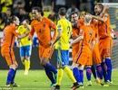 Hà Lan chia điểm trên sân của Thụy Điển