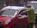 Không nên tự đi xe lên Ô Quý Hồ ngắm tuyết