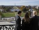 Vợ chồng Tổng thống đắc cử Donald Trump thăm điện Capitol