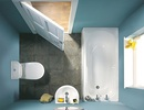 Gợi ý những mẫu thiết kế cho phòng tắm có kích thước nhỏ