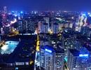 Đô thị Hà Nội sầm uất nhìn từ trên cao