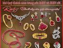 Tháng 7: Trang sức ngọc quý Ruby – sắc đỏ nồng nàn, ngập tràn may mắn