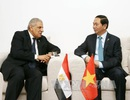 Chủ tịch nước tiếp xúc song phương tại Hội nghị Cấp cao Pháp ngữ