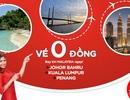Kinh nghiệm săn vé máy bay 0 đồng đi Malaysia từ TP.Hồ Chí Minh