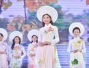Nữ sinh Hà Nội duyên dáng tà áo dài trong đêm hội tài sắc