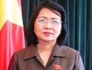 Nữ Phó Chánh Văn phòng Trung ương Đảng được đề cử làm Phó Chủ tịch nước