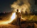 Khói đốt rơm rạ bủa vây ngoại ô Hà Nội