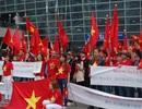 Người Việt ở Hàn Quốc biểu tình rầm rộ phản đối Trung Quốc ở Biển Đông