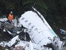 Hiện trường vụ rơi máy bay chở đội bóng Brazil khiến 76 người chết