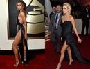 Người đẹp đọ dáng bốc lửa trên thảm đỏ Grammy