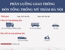 Sơ đồ phương án cấm đường dịp Hà Nội đón Tổng thống Barack Obama