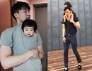 """Ông bố cao gần 2m """"gây sốt"""" khi chụp ảnh cùng con gái"""