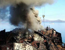 Tàu ngầm hạt nhân Nga bốc cháy ở Viễn Đông