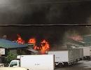 Hà Nội: Cháy xe bồn, cây xăng cũng bị thiêu rụi