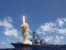 Chiến hạm Mỹ mang tên lửa đánh chặn ngoài khí quyển