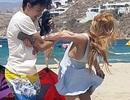 Choáng với hình ảnh Lindsay Lohan bị bạn trai bạo hành