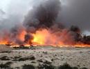 IS tìm cách thiêu rụi một thị trấn Iraq trên đường tháo chạy