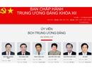 Chân dung 200 Ủy viên Trung ương Đảng khóa XII