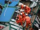 Sập cần cẩu ở Trung Quốc, 18 người chết