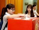 Hàng ngàn sinh viên Hà Nội háo hức đi bầu cử