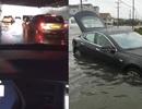 Tesla Model S thể hiện khả năng lội nước