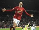 Ibrahimovic xác lập cột mốc đặc biệt trong màu áo MU