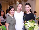 Linh Nga rạng rỡ đến chúc mừng Ngô Thanh Vân