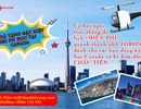 Du học Canada với Châu Tiên – Tặng gói du lịch Toronto bằng trực thăng