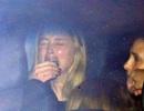 Vợ Johnny Depp òa khóc và lộ hàng loạt vết thâm tím do bị chồng đánh