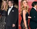 """""""Cướp biển"""" Johnny Depp kém sắc bên vợ trẻ"""
