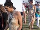 Kendall Jenner mặc hớ hênh đi xem ca nhạc