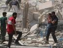 Máy bay Thổ Nhĩ Kỳ san phẳng kho đạn ở Syria