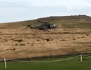 Lính Anh ngơ ngác nhìn trực thăng thổi bay nhà vệ sinh